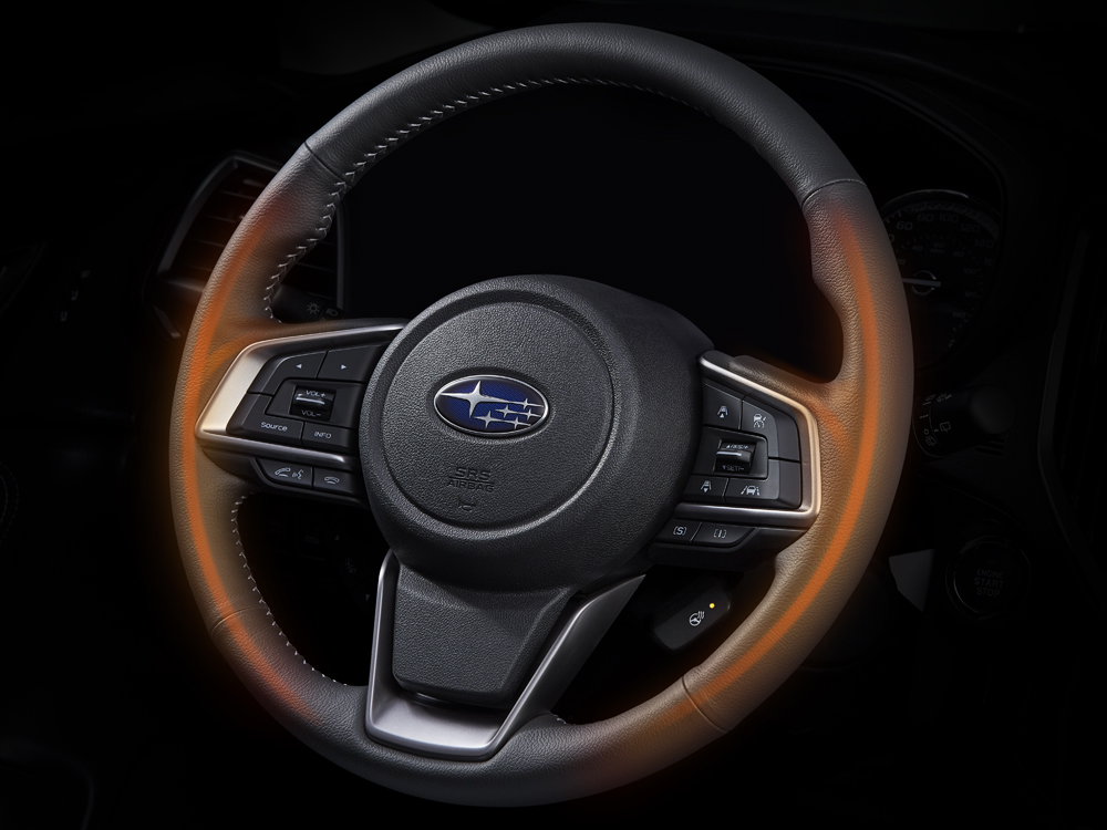 2019 Subaru Forester Heated Steering Wheels