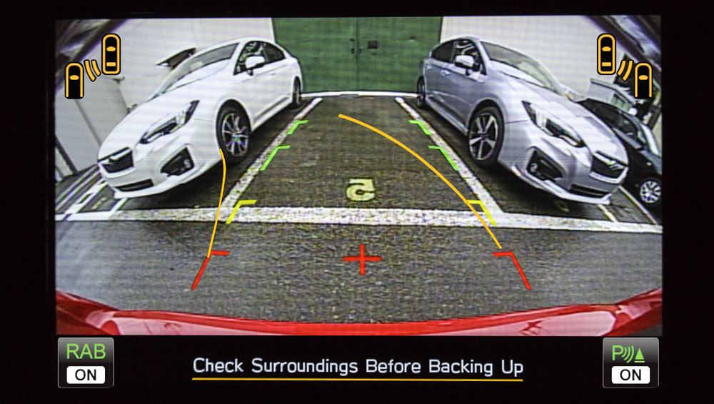 2019 Subaru Impreza Rearview Camera