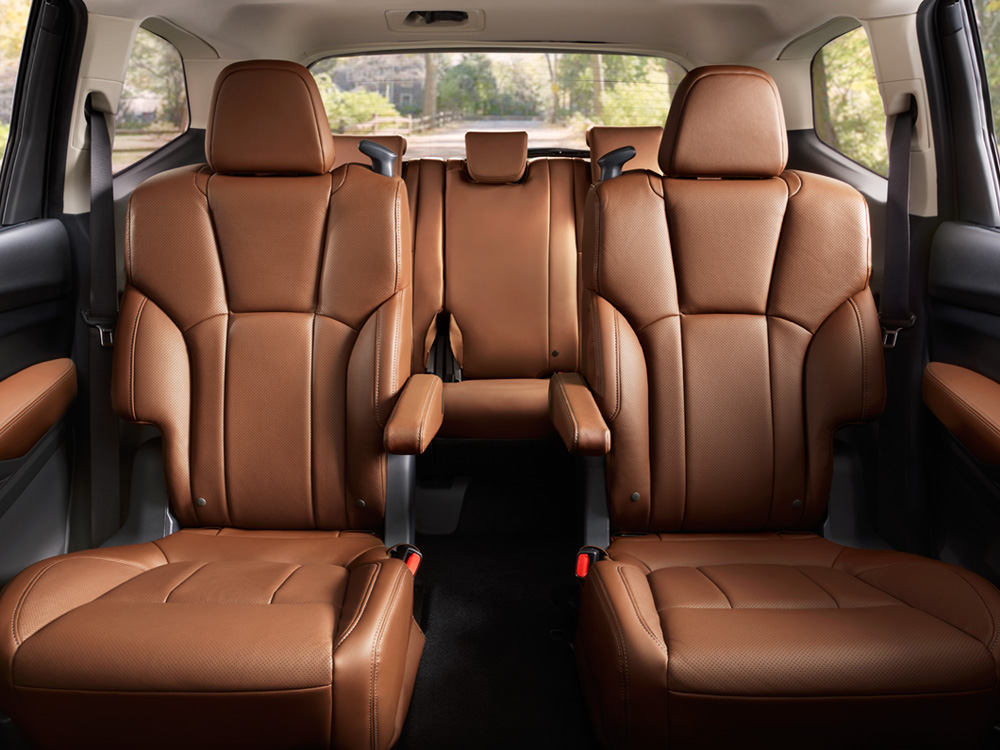 2019 Subaru Ascent 2nd Row Captain's Chairs