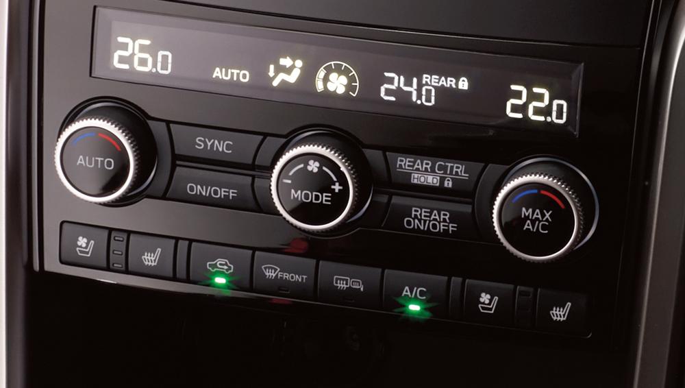 Interior 2019 Ascent Subaru Canada