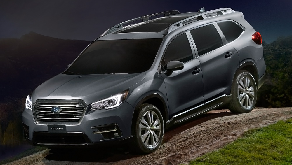 2019 Subaru Ascent Hill Decent Control
