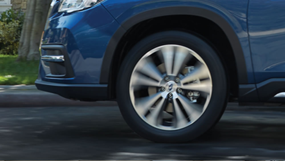 2019 Subaru Ascent Substantial Ground Clearance