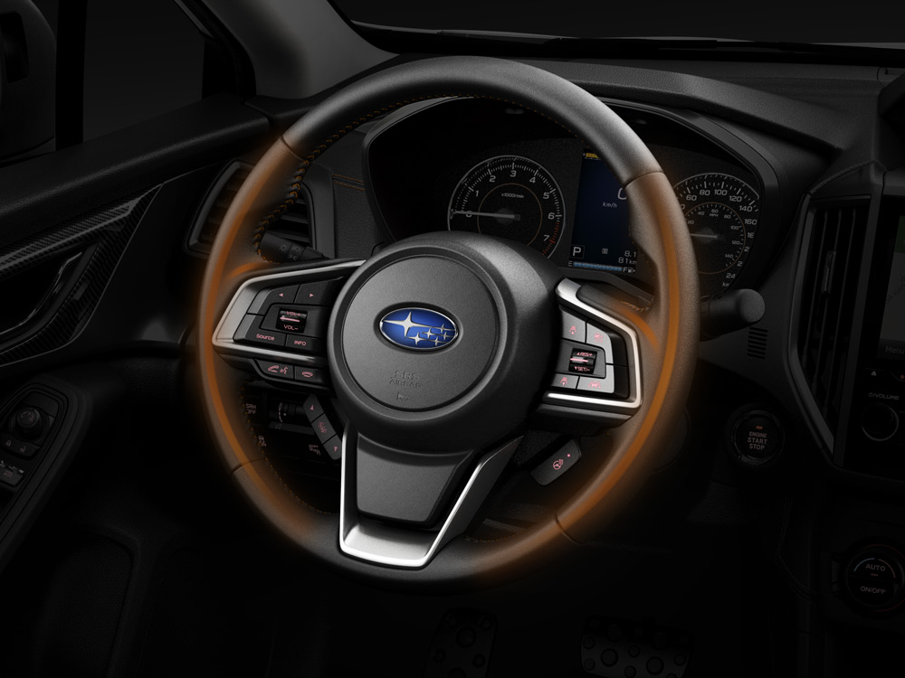 2019 Subaru Crosstrek Heated Steering Wheel