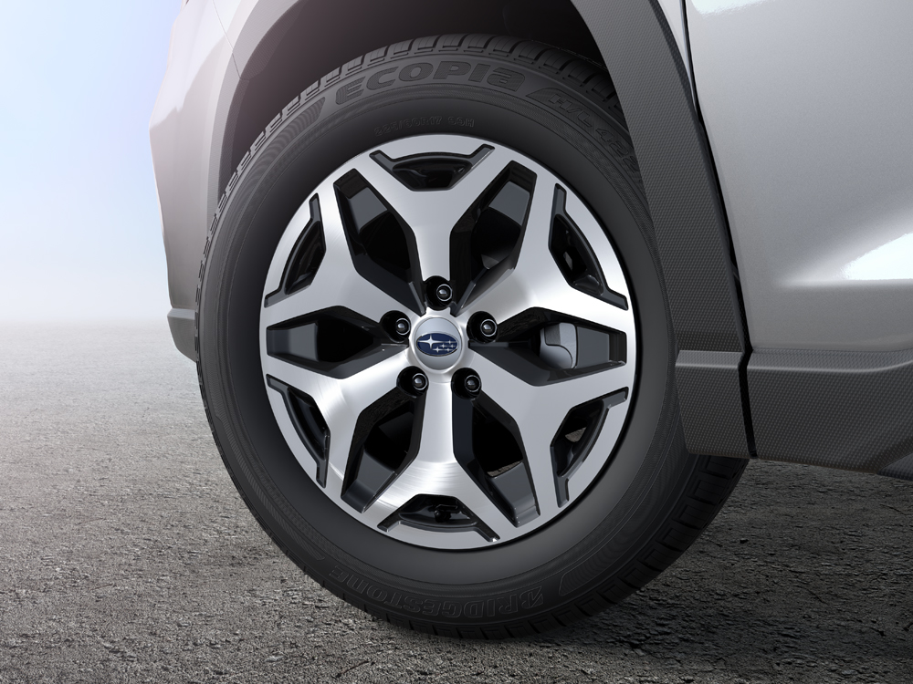 2019 Subaru Forester 17-inch Alloy Wheels with Machined Finish