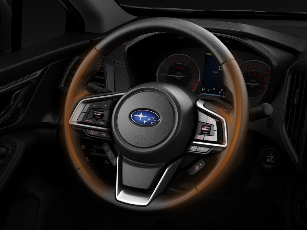 2020 Subaru Impreza Heated Steering Wheel