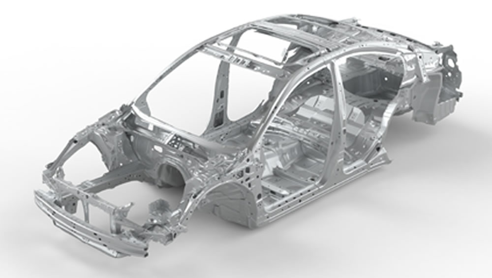 2021 Subaru Legacy Advanced Ring-shaped Reinforcement Frame