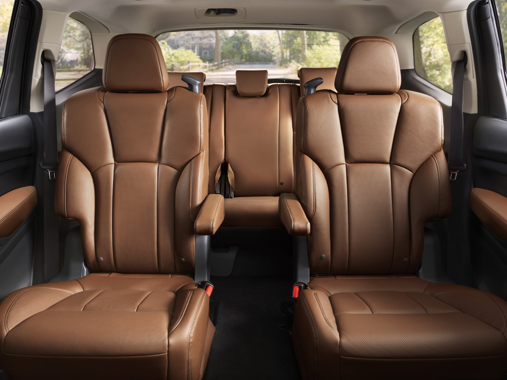 2021 Subaru Ascent 2nd Row Captain's Chairs