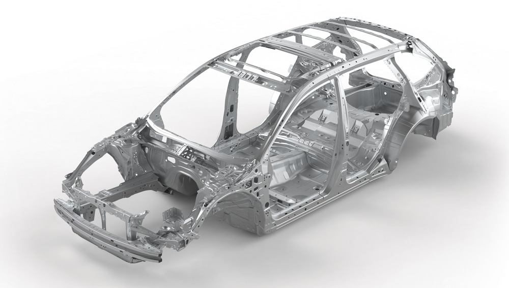 2021 Subaru  Ascent Advanced Ring-shaped Reinforcement Frame