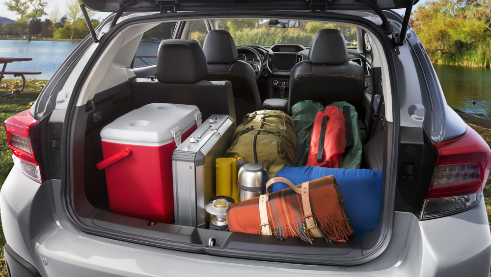 Subaru Crosstrek 2021 Reengineered cargo area