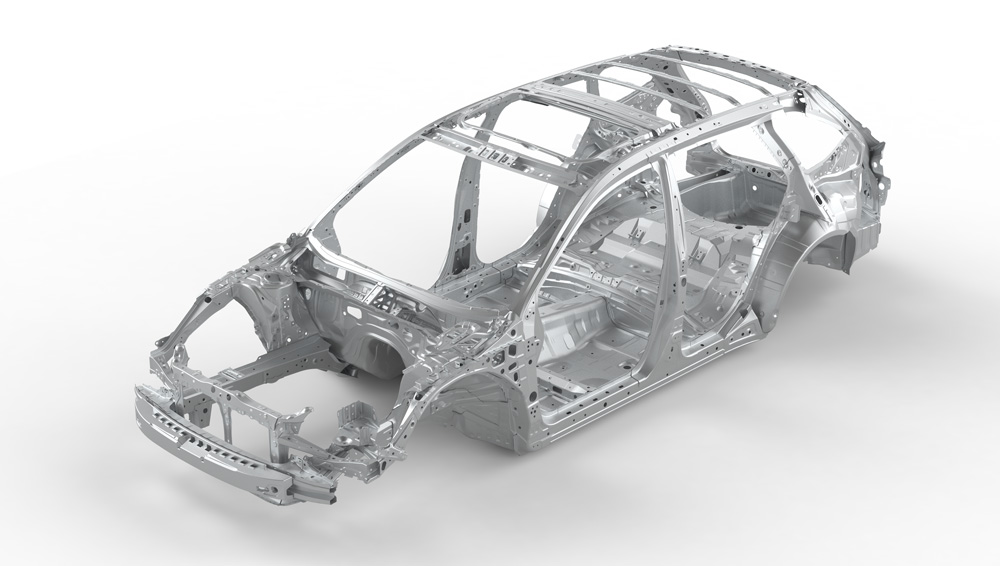 2021 Subaru Outback Advanced Ring-shaped Reinforcement Frame