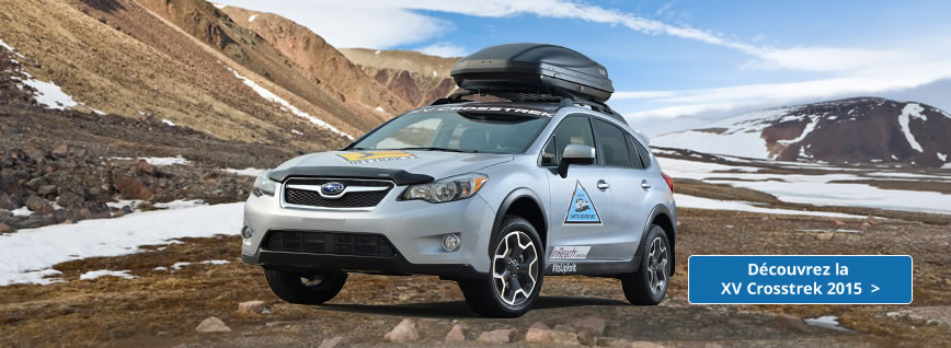 Explore the 2015 Crosstrek