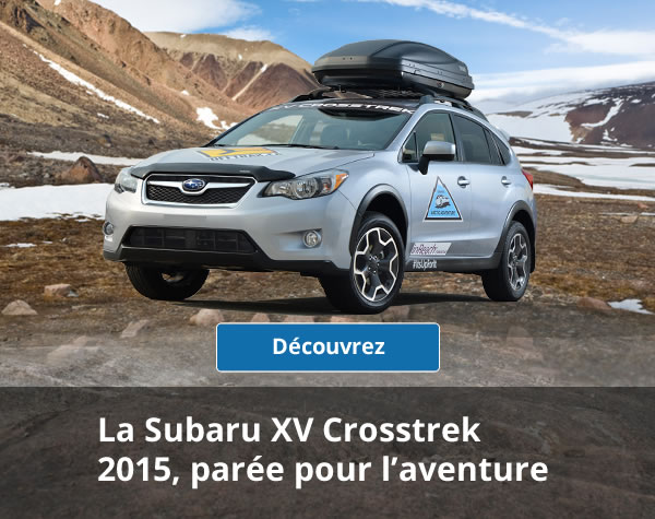 The adventure-ready  2015 Subaru Crosstrek
