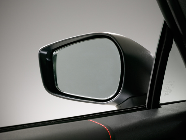 2017 BRZ Power-adjustable Heated Mirrors