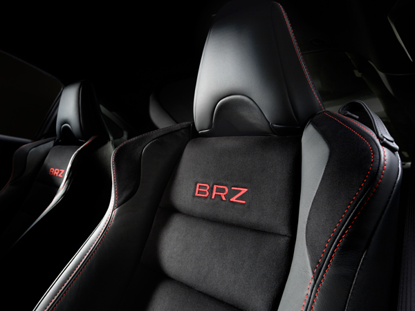 Subaru BRZ 2018 BRZ Embroidered Seats
