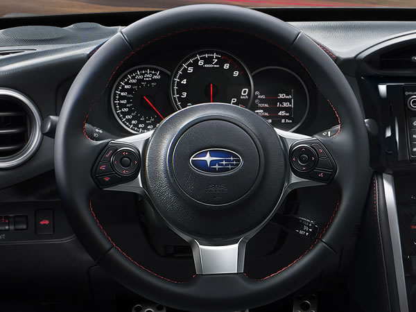Subaru BRZ 2018 Leather-wrapped Steering Wheel