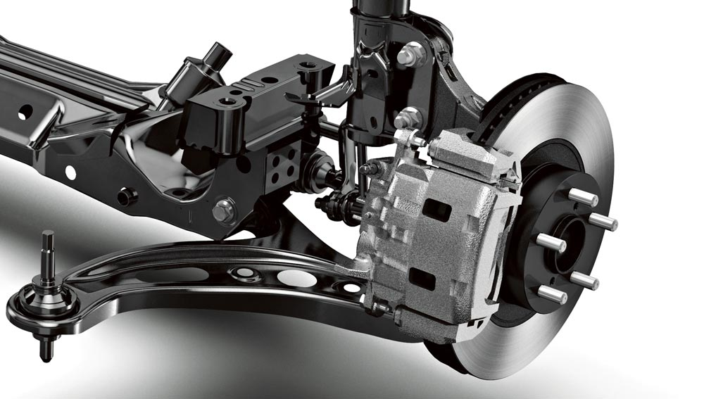 2017 Subaru BRZ Braking Systems