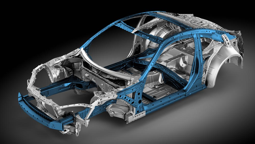 2018 Subaru BRZ Advanced Ring-shaped Reinforcement Frame