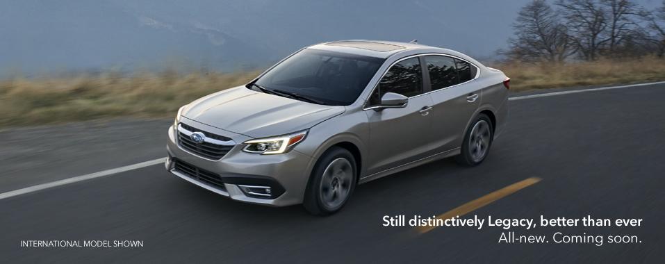 2020 Subaru Legacy Subaru Canada