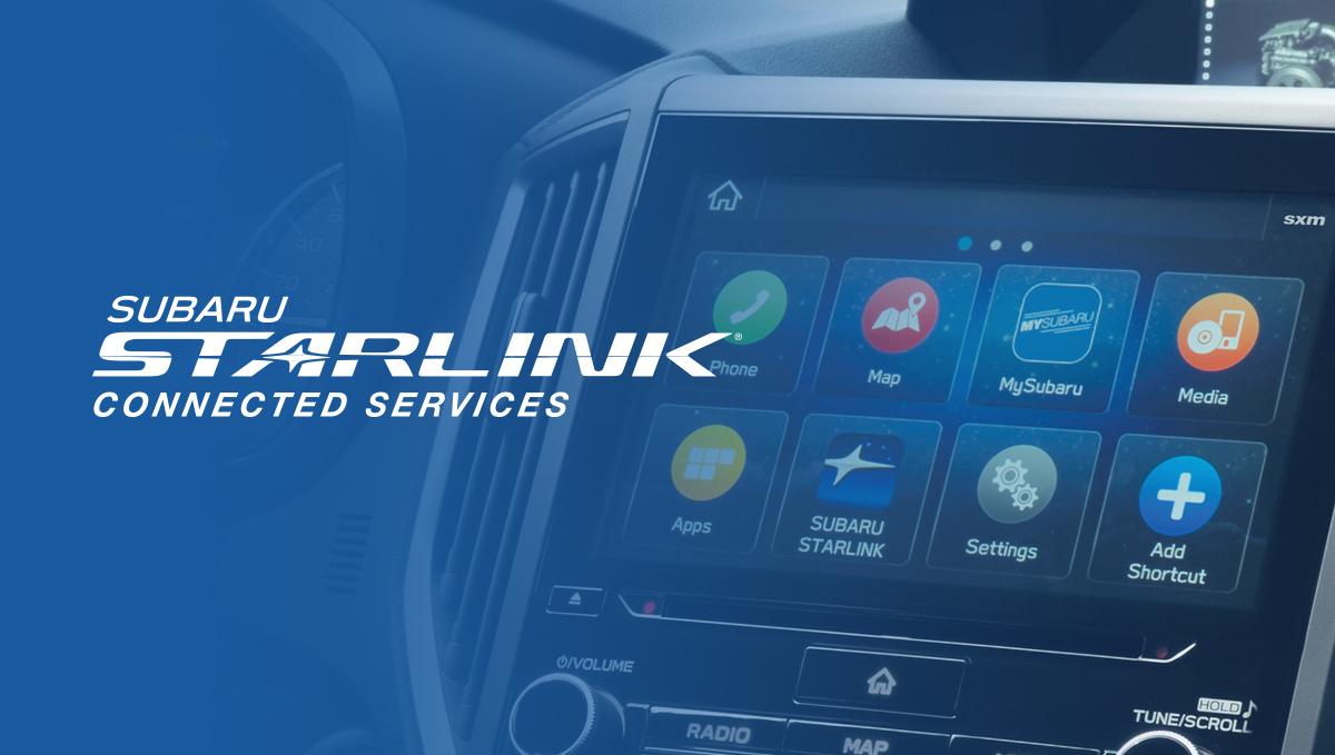 SUBARU STARLINK® Connected Services