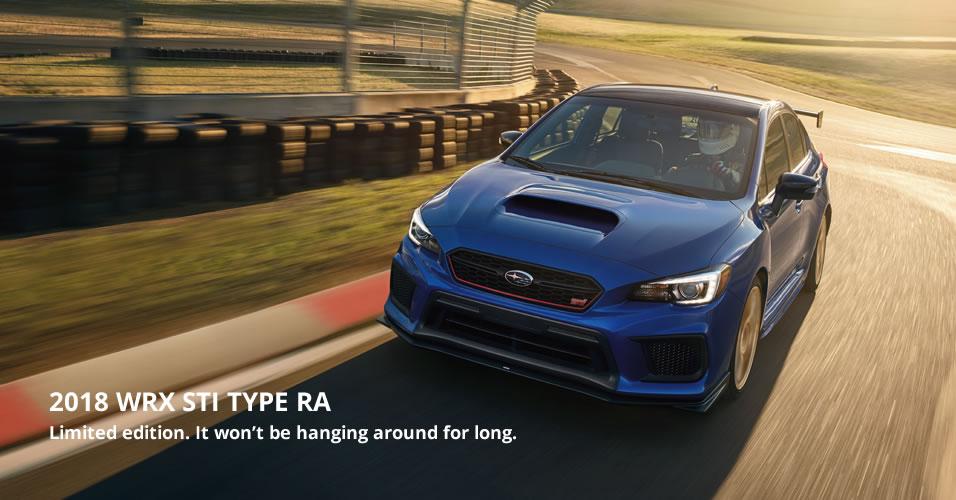 Sti Type Ra >> 2018 Wrx Sti Type Ra Version Subaru Canada