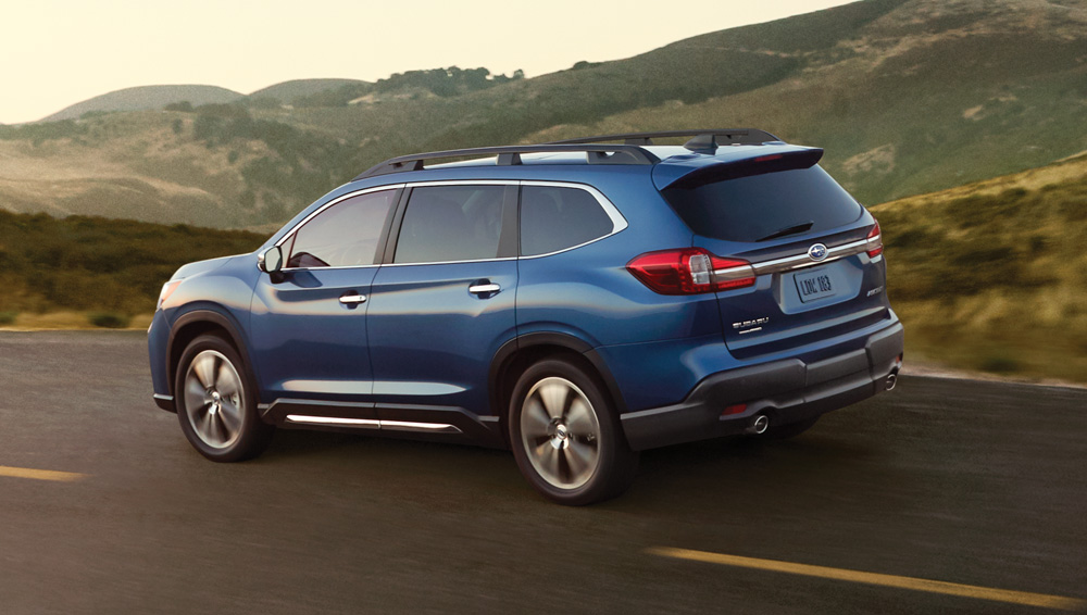 2019 Subaru Ascent-Impeccable ride quality