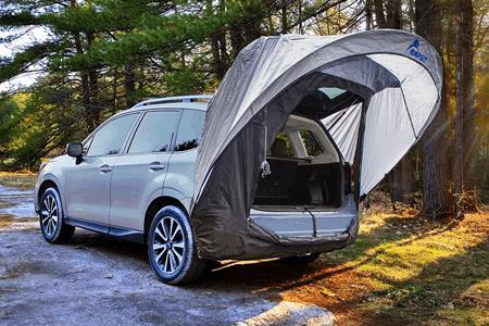 Subaru Outback Tent Attachment Subaru Cars Review