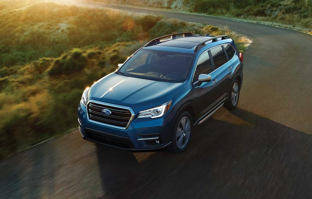 the 3-row, family-sized SUV as envisioned by Subaru—the 2019 Subaru Ascent