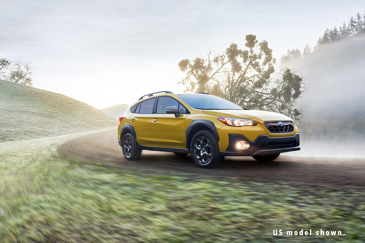 The newly refreshed 2021 Crosstrek