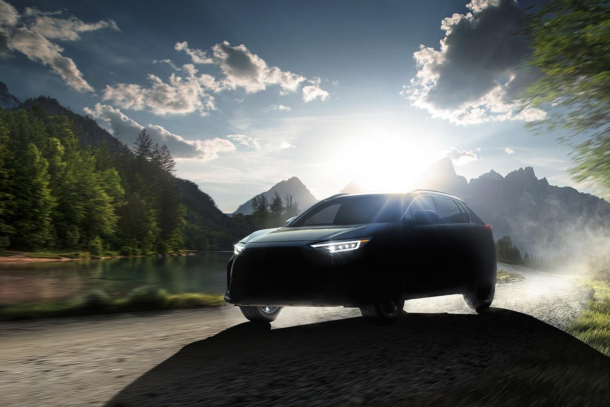 Subaru's all-new global battery electric SU