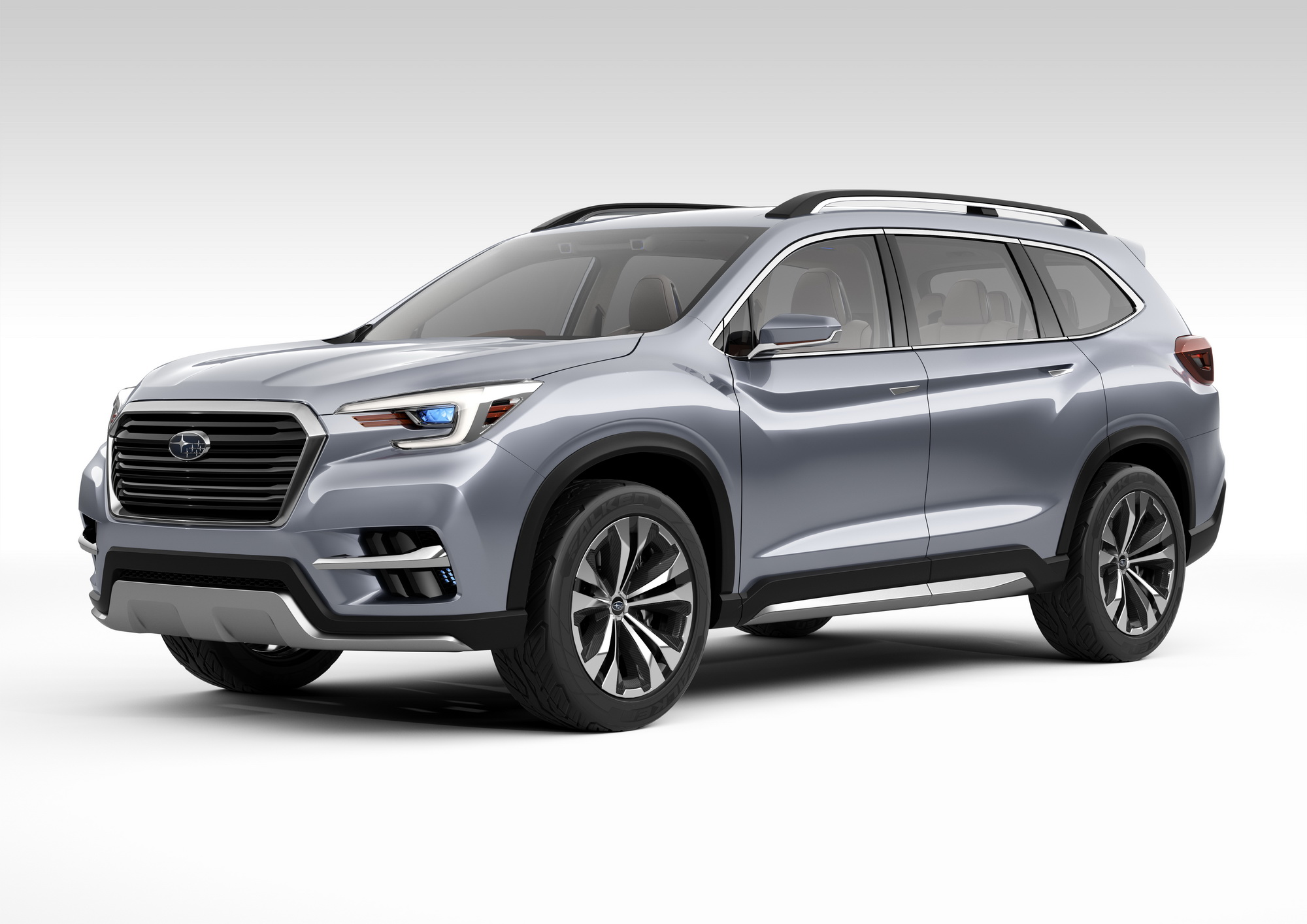 News Subaru Calgary Kia Sorento Captain Chairs The Exterior Design Of Concept Follows Subarus Dynamic X Solid Theme With Powerful Fender Flares Representing All Wheel Drive System And A