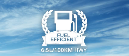 Amazing fuel efficiency