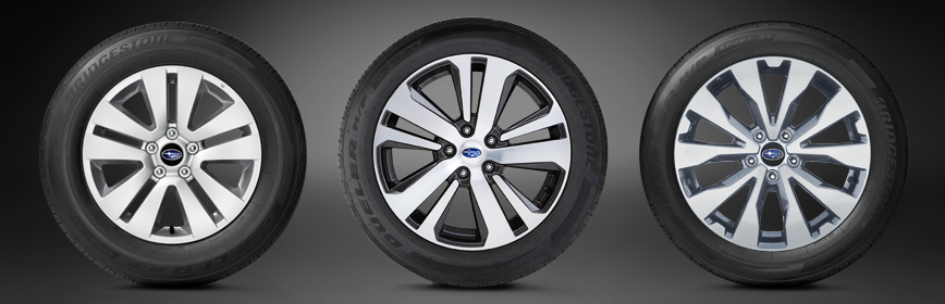 2018 Subaru Outback Aluminum Alloy Wheels