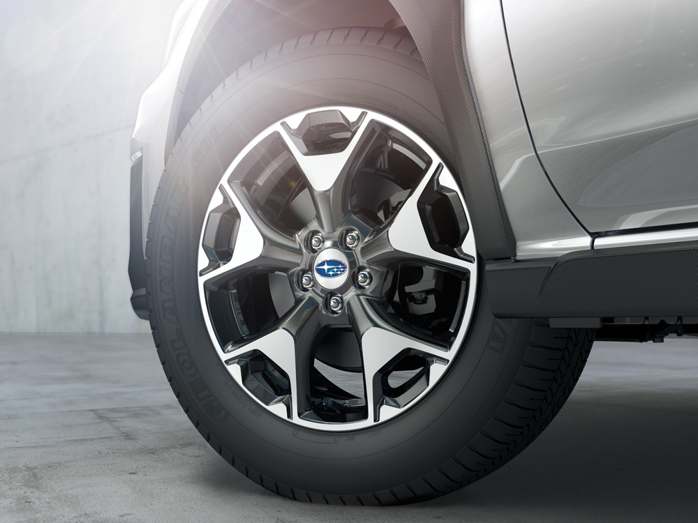 2020 Subaru Crosstrek 17-inch Aluminum Alloy Wheels