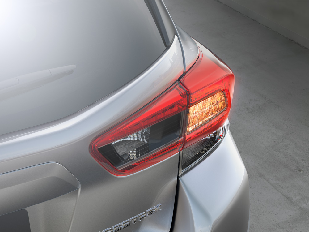 2020 Subaru Crosstrek LED Rear Combination Lights