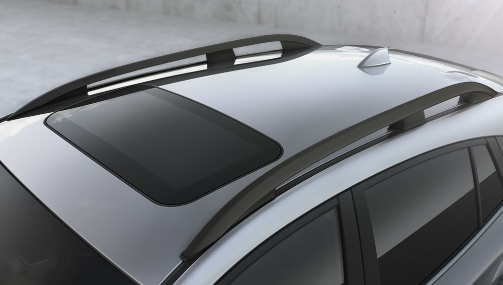 2020 Subaru Crosstrek Raised-profile Roof