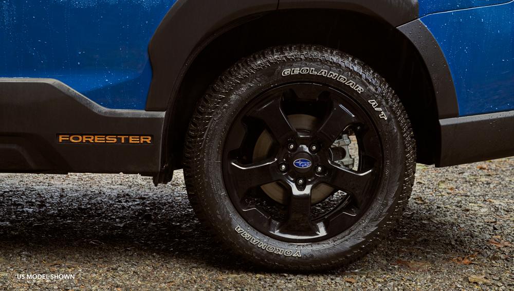 Subaru Forester Wilderness Extra-tough body cladding