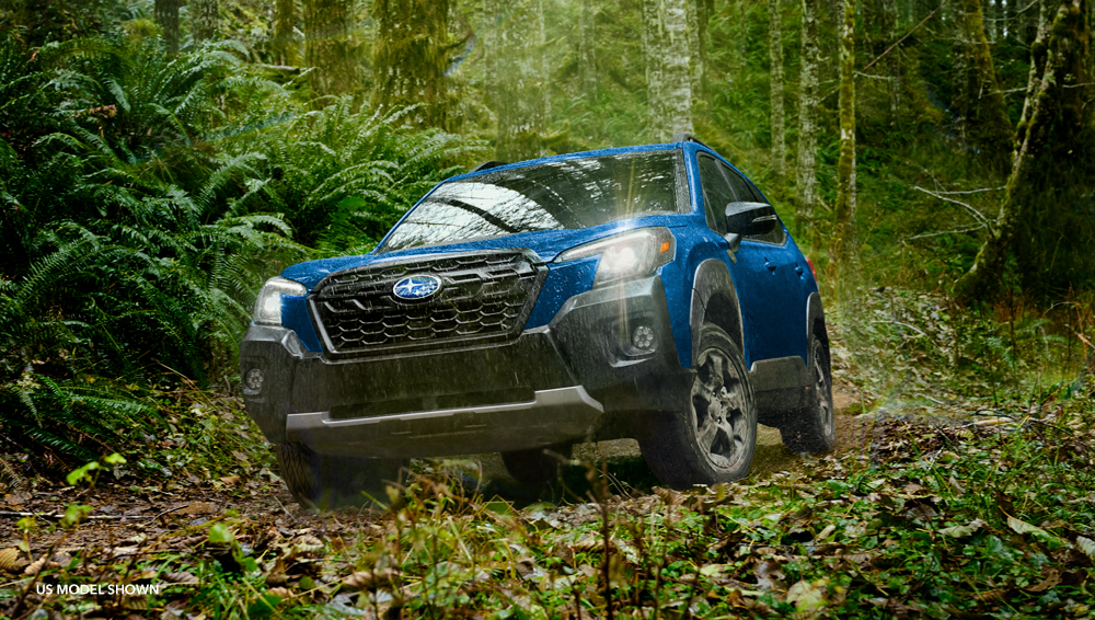 Subaru Forester Wilderness  a compact SUV with super-sized levels of capability and dependable toughness