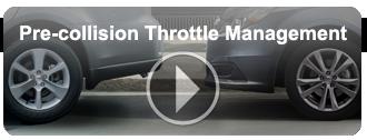 Pre-collision Throttle Management