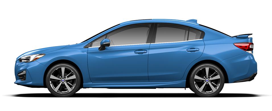 Subaru Impreza Subaru Rear/Side Vehicle Detection