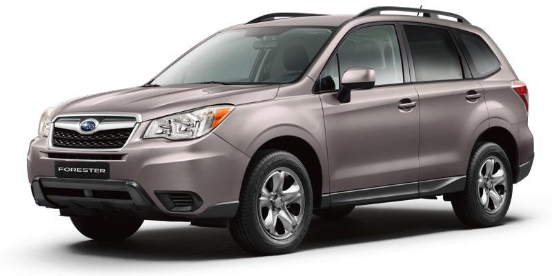 Pricing 2014 Forester Subaru Canada