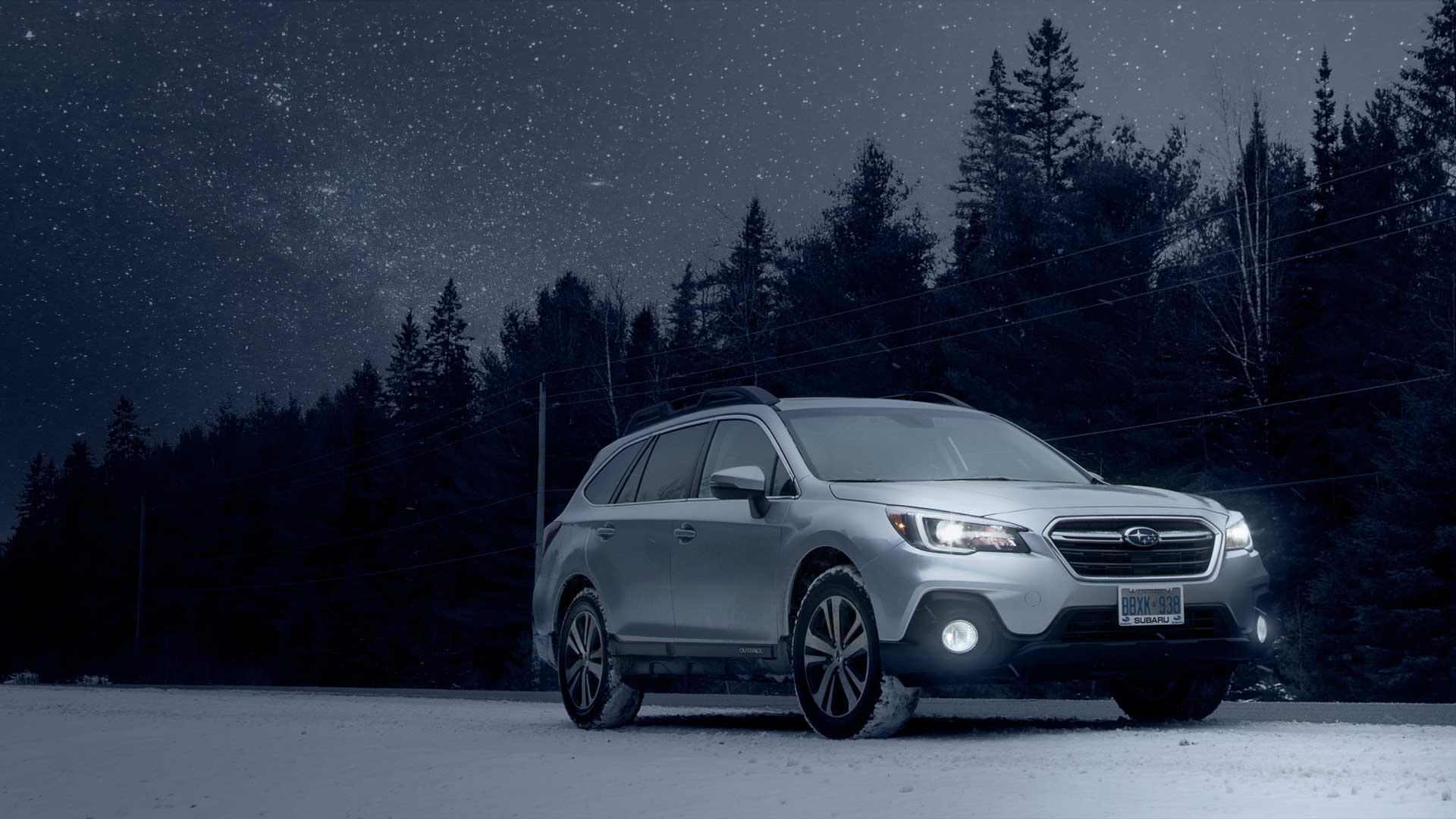 Dark Sky 2018 Outback Subaru Canada